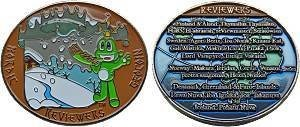Nordic Reviewer Geocoin