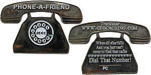 Phone A Friend Geocoin