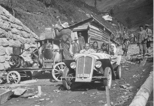Hochalpenstraße 1935