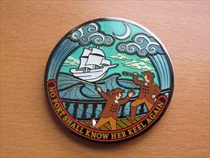 Compass Rose Geocoin 2012 LE - Vorderseite