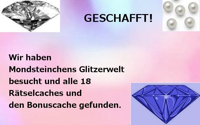 Glitzerwelt-Banner am 08.11.14