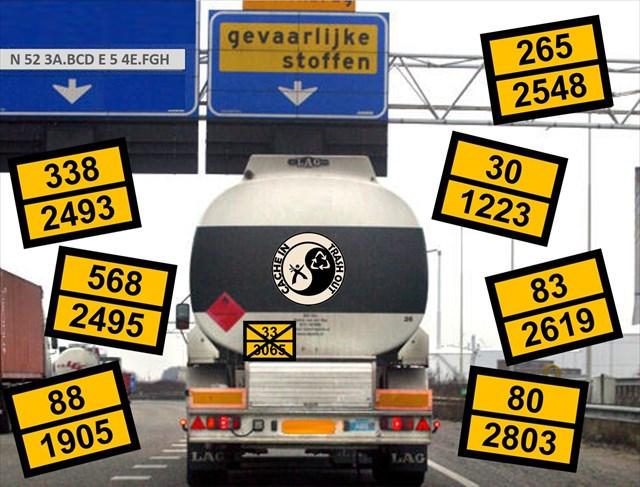 vervoer van gevaarlijke goederen