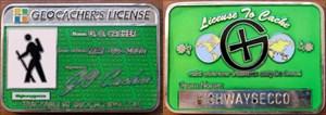 Highwaygecco GEOcache Lizenz
