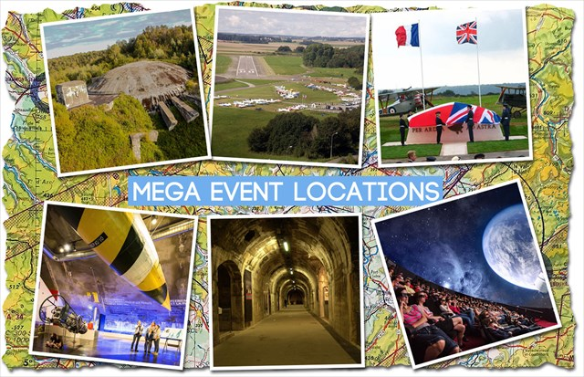 Mega Event geocaching