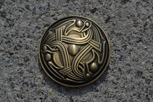 Norwegian Vikings Geocoin - The Brooch