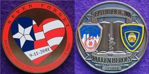 Geoswag C&P Club Sep 2006 - 9/11 Memorial Coin