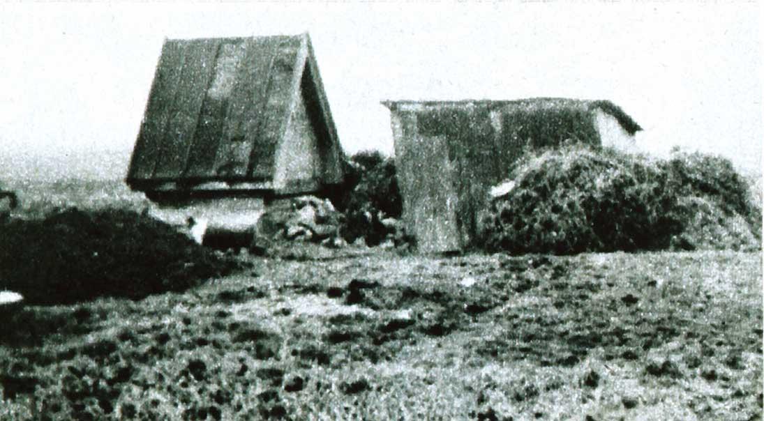 Bouda zahradnika Antonina Sedlacka