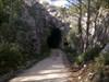 A chegar ao 1º túnel