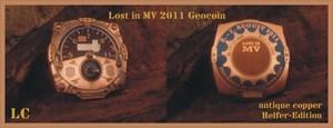 Lost in MV 2011 Geocoin *antique copper*
