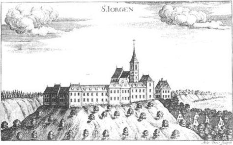 Schloss St. Georgen um 1680