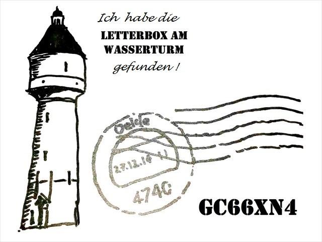 Letterbox Am wasserturm