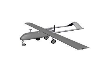 (TB21JQP) Travel Bug Dog Tag - Shadow RQ-7B UAV