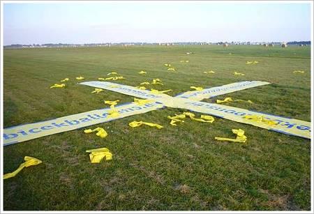 Marker auf Zielkreuz