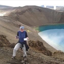 Geo-Caching in Iceland