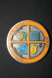 Max  All In One Geocoin 2007