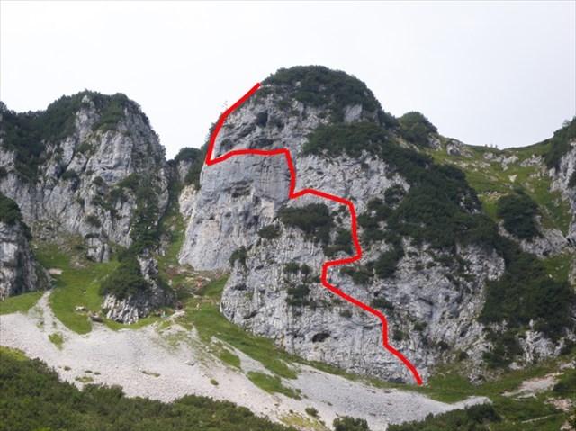Klettersteig Klamml : Gc v jx klamml klettersteig traditional cache in tirol austria