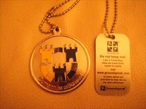 GAA Voyager Medal - Travel Bug