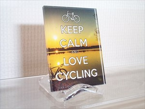 KEEP CALM AND LOVE CYCLING (XLE 28)