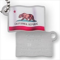 Travel Flag California