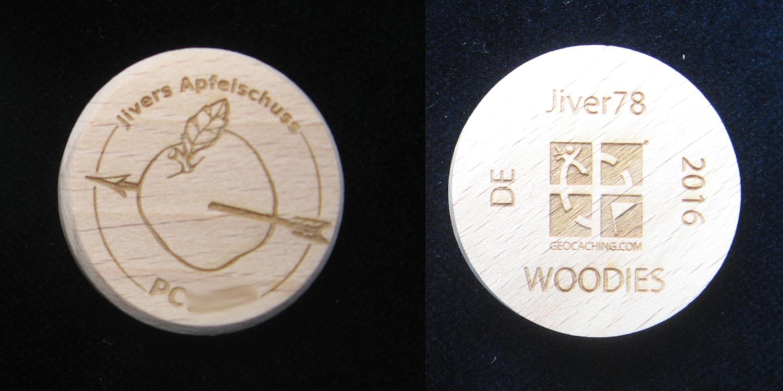 Jivers Apfelschuss Woodie