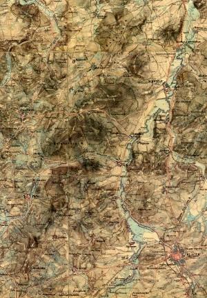 III. vojenské mapování - Doubravský hřeben