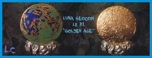 LUNA Geocoin - Golden Age Edition