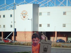 Bloomfield Road Home of the mighty Blackpool FC!!