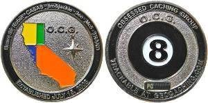 OCG-Obsessed Caching Group Geocoin