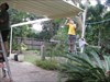 Malanas:  Forduck of patio construction