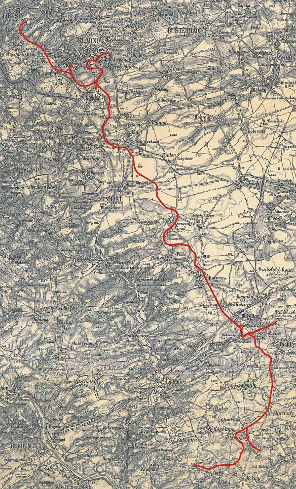KND - mapa