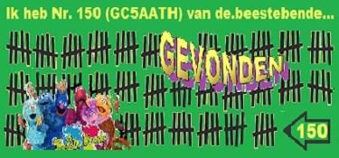 Banner Nr. 150 gevonden
