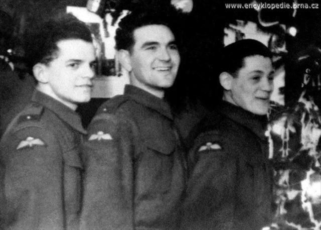 Oldrich(vľavo)