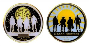 Walker's 2010 Czech Hunters Geocoin