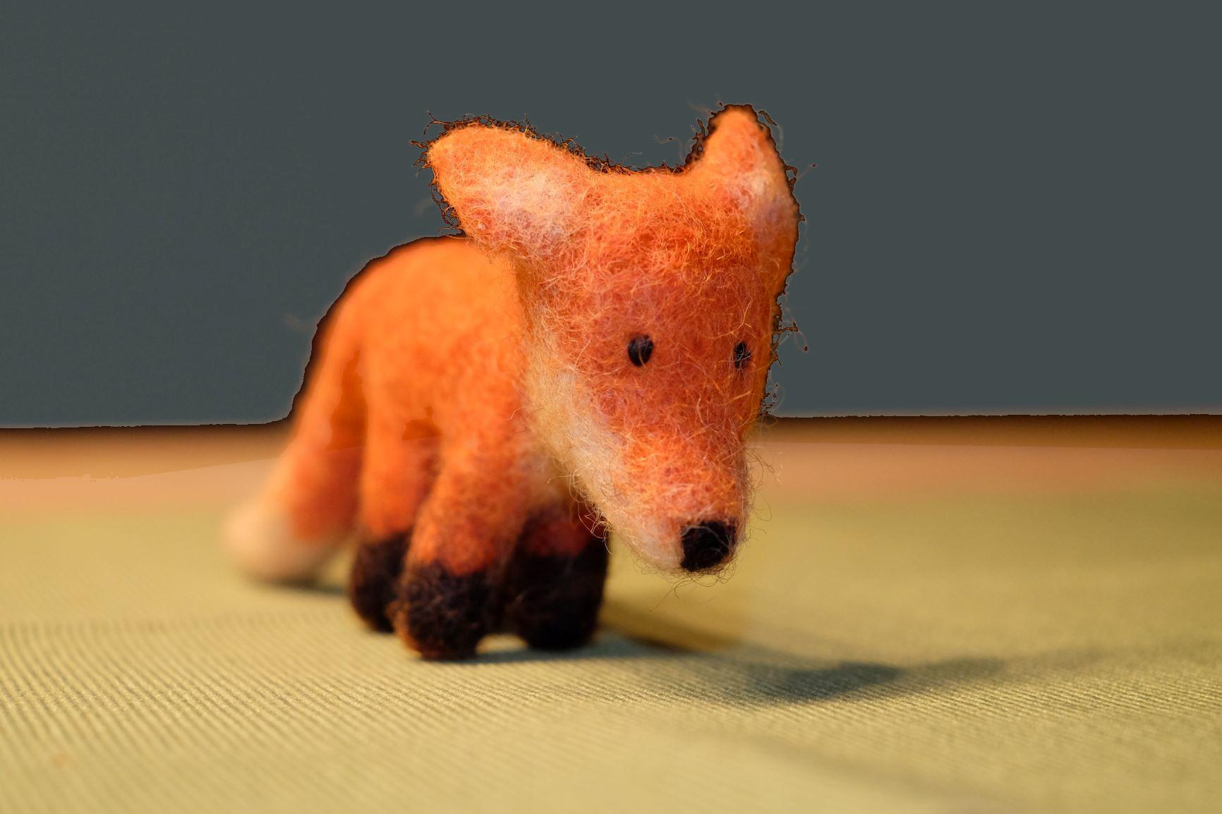 Fuchs aus Filz