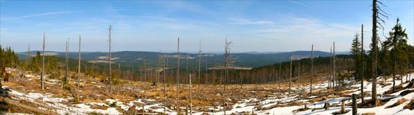 Panorama údolí Křemelné