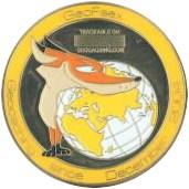 GeoFaex Geocoin front
