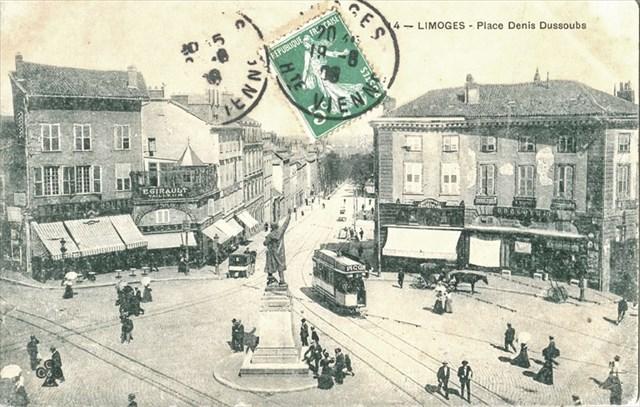 Place au début du 20ème siècle