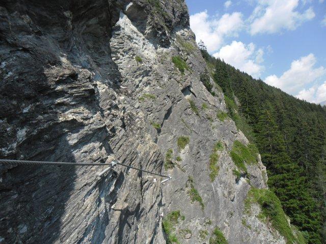 St Jodok Klettersteig : Gc3wwt7 peter kofler klettersteig stafflacher wand traditional