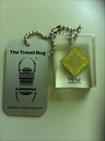 Mein 1ter Travel Bug
