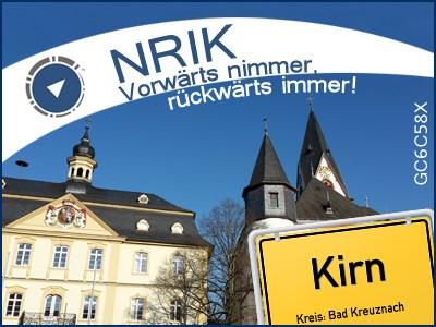 NRIK - Vorwärts nimmer, rückwärts immer! - GC6C58X