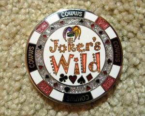 Wild turkey poker chips