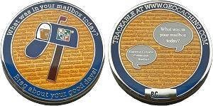 What's in your mailbox? Geocoin