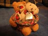 in a deck-chair bear