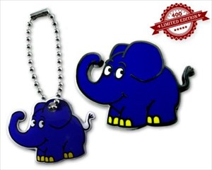 Elefant front