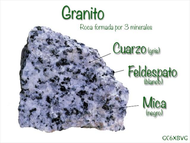 Gc6xbvg feldespatos en el granito del anfiteatro for Piedra de granito