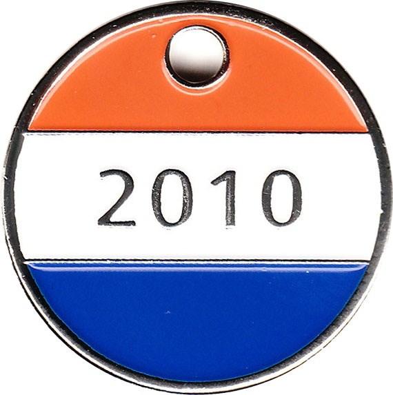 Dutch 2010 Geocoin Tag- front