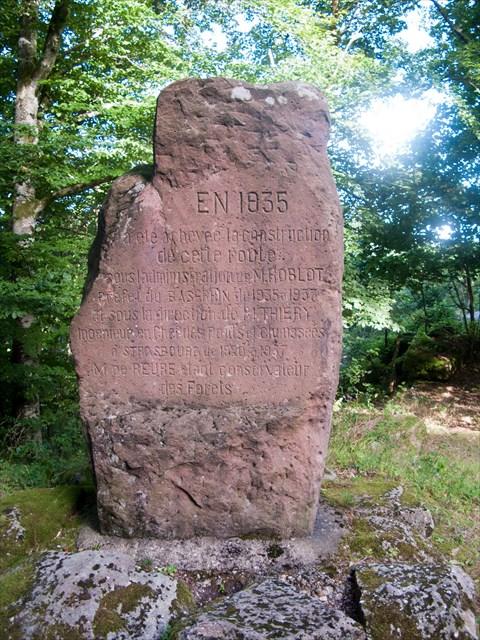 stèle du Nideck