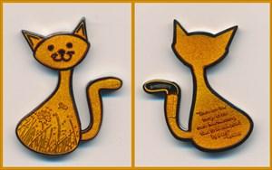 CacheCat Geocoin - Macabre Cat