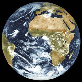 Earth by Meteosat