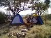 O acampamento